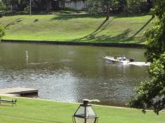 Boating on Cane River Lake