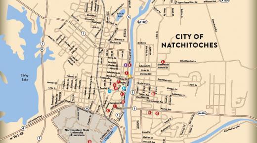 Natchitoches Film Trail